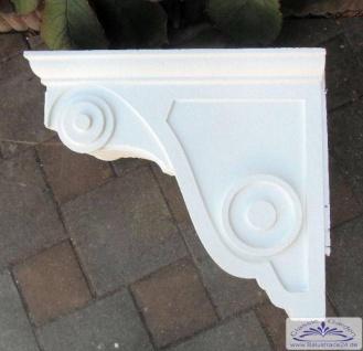 BI-BK1 Balkonkonsole aus Styropor zur Verkleidung der Balkon Stahlkonstruktion als Stuckkonsole Balkonwinkel Konsole
