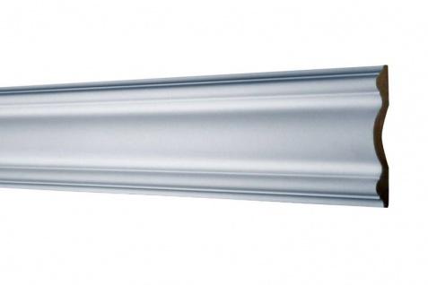 AD354 Flache Leiste für Wand und Decken Innenstuck Dekoration 102x20mm Profil 200cm
