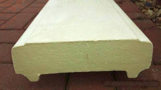 BD-7645 Handlauf aus Weissbeton für Balustrade oder als Mauerabdeckung 117cm