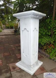 SR167 Pfeiler Zaunpfeiler als Säule oder Sockel für Blumenschale oder Gartenfigur 80cm 65kg