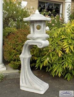 S610 Japanische Steinlaterne Rankei für japanischen Garten Dekoration 135cm 126kg