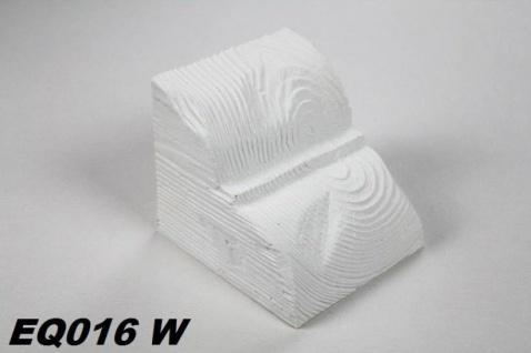 HX-EQ016W Konsole für Deckenbalken aus leichtem Polyurethan Hartschaum als rustikale Innendekoration 120x120x140mm Preis je Stück
