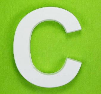 Buchstaben Alphabet ABC für Schriftzüge 20cm Wanddeko im Stil von Beton Buchstaben - Vorschau 4