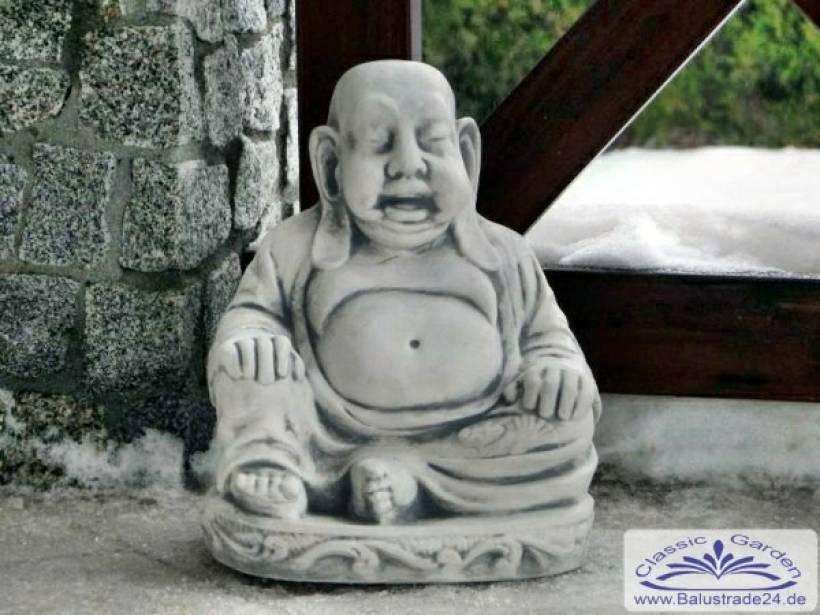 SRS101070 Sitzender Buddha Figur für asiatischen Garten Deko 39cm ...