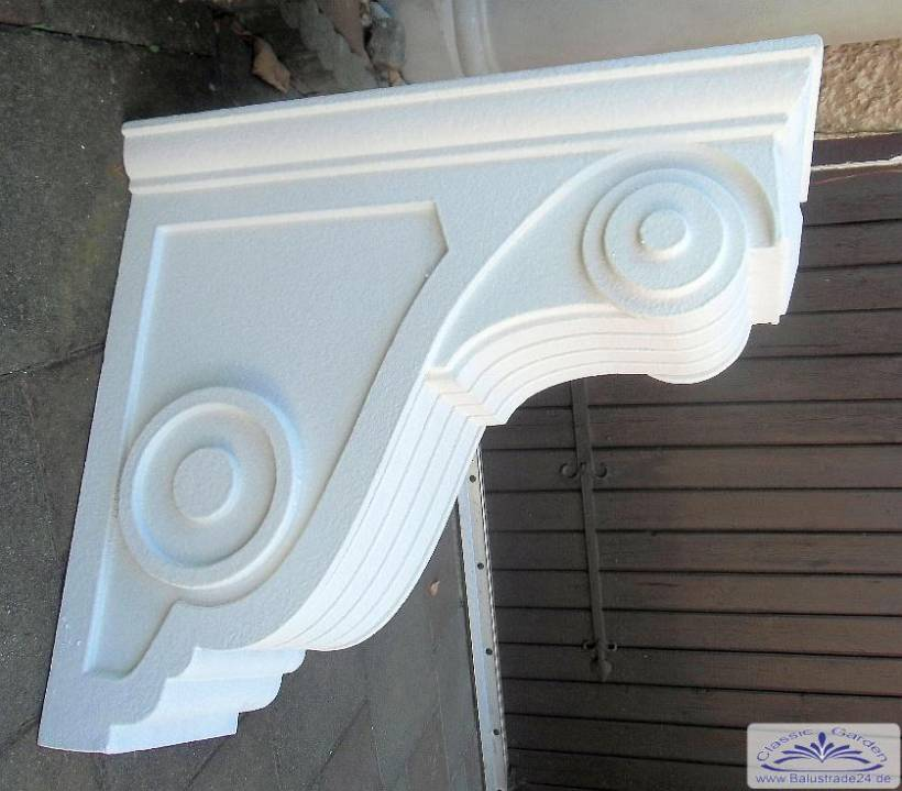 bi bk1 balkonkonsole aus styropor zur verkleidung der balkon stahlkonstruktion als stuckkonsole. Black Bedroom Furniture Sets. Home Design Ideas