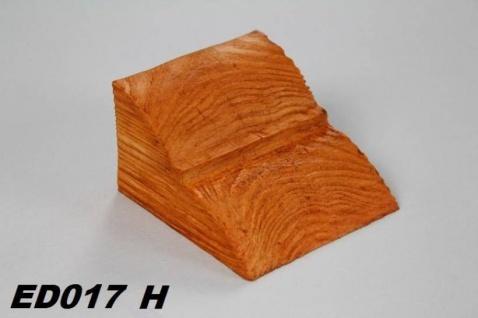 HX-ED017H Konsole für Deckenbalken aus leichtem Polyurethan Hartschaum als rustikale Innendekoration 60x90x110mm Preis je Stück