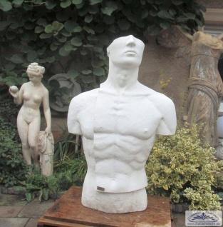 Torso Skulptur Mann Modern Art Design erotisches Bildhauer Figur 109cm 250kg - Vorschau 5