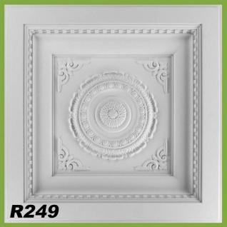 HX-R249 Deckenplatte für Kassettendecken aus Polyurethan Hartschaum 60x60cm 7cm tief