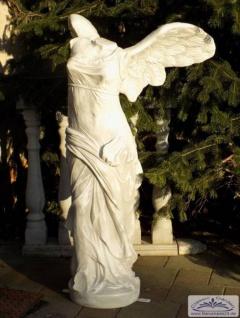 Nike Skulptur der Siegesgöttin von Samothrake Statue Dekofigur aus leichtem Kunststoff für den Innenbereich 155cm 30kg