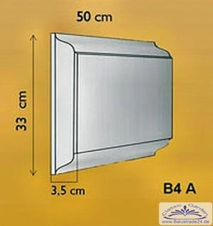 Fassadenstuck Eckbossen Stein B4A 330x500mm Fassadenelement Fassaden Stuck Element Hausecke