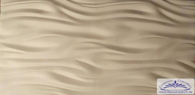PN-02 Gips 3D Deko Wandverkleidung Dekowandplatten Gipsplatten 100x50cm