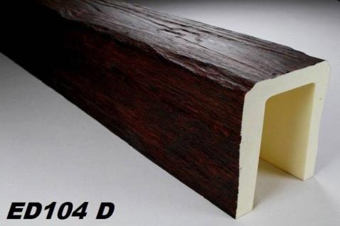 HX-ED104D Deckenbalken aus leichtem Polyurethan Hartschaum als rustikale Innendekoration 190x170mm Preis je Stück
