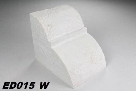HX-ED015W Konsole für Deckenbalken aus leichtem Polyurethan Hartschaum als rustikale Innendekoration 190x170x230mm Preis je Stück