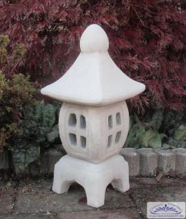 S106009 Kleine japanische Gartendeko Steinlaterne 45cm 13kg
