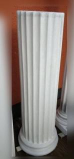 BD-A026 Beton Säuleschaft kanneliert Durchmesser 30cm Länge 124cm mit Profilring für Betonsäulen als Grundkörper