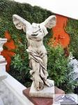 CG-615 Gartenfigur Siegesgöttin Nike von Samothrake anthrazit 100cm 75kg Skulptur Steinfigur