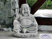 SRS101070 Sitzender Buddha Figur für asiatischen Garten Deko 39cm 30kg
