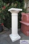 KP-0457 Säule kanneliert Dekosäule für Garten und Innenbereich auch Beton 90cm 77kg
