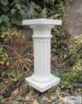 KP-0452 Säule kanneliert Dekosäule für Garten und Innenbereich auch Beton 60cm 37kg