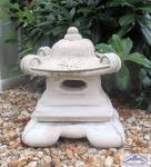 BD-2122 Kleine massive japanische Steinlaterne für asiatischen Garten 56cm 38kg