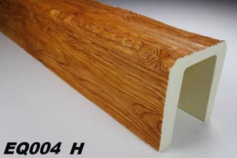 HX-EQ004H Deckenbalken aus leichtem Polyurethan Hartschaum als rustikale Innendekoration 190x170mm Preis je Stück
