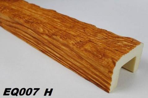 HX-EQ007H Deckenbalken aus leichtem Polyurethan Hartschaum als rustikale Innendekoration 60x90mm Preis je Stück