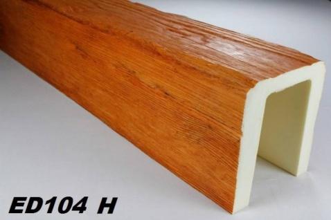 HX-ED104H Deckenbalken aus leichtem Polyurethan Hartschaum als rustikale Innendekoration 190x170mm Preis je Stück