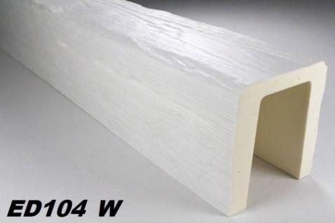 HX-ED104W Deckenbalken aus leichtem Polyurethan Hartschaum als rustikale Innendekoration 190x170mm Preis je Stück