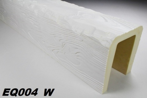 HX-EQ004W Deckenbalken aus leichtem Polyurethan Hartschaum als rustikale Innendekoration 190x170mm Preis je Stück