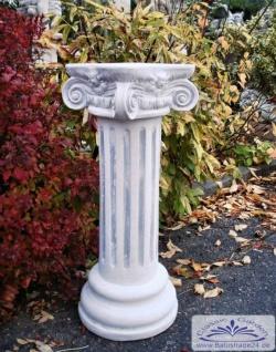BD-6523 Kleine Säule als Sockel für Gartenfigur Pflanzschale Blumenschale Gartendeko