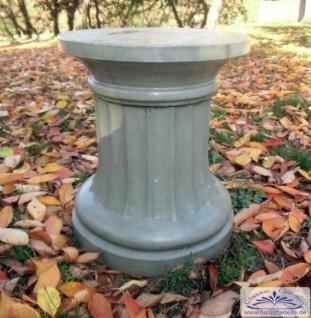 KP-0414-1 Säule 2-teilig als Sockel mit geschwungener Kantenform für Gartenfiguren Pflanzgefäße 55cm