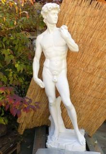 BAD-10254 Gartenfigur grosser David von Michelangelo Skulptur Steinfigur Figur 162cm 190kg