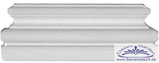 Profhome 453201 Pilaster Sockel Fassadenelement Pilaster Außenstuck
