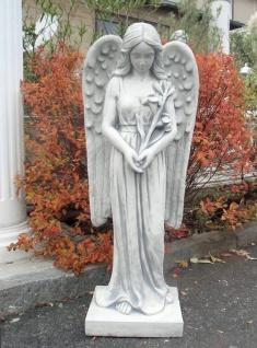 BAD-10069 Moderne Engel Figur mit großen langen Engelflügel 95cm 56kg