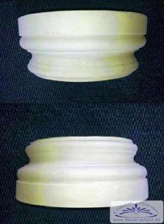 BD-A008 Halbschale für Säulen Sockel und Kapitell für Säulenduchmesser 25cm Säulenverkleidung