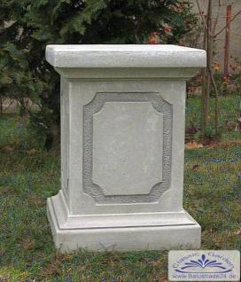 SR335 Sockel 60cm für Gartenfigur Vasen Basissockel für Säule und Gartendekoration