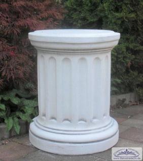 SR336 Säulen Sockel als rundes Postament für Gartenfiguren und Vasen 59cm 112kg