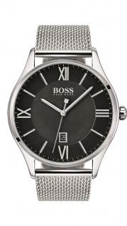 Hugo Boss Herren Uhr Governor Edelstahl, 1513601
