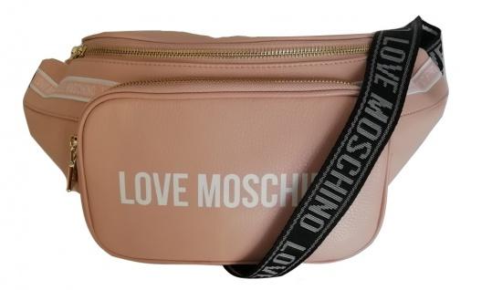 Love Moschino Bauchtasche / Gürteltasche, Ros&eacutesemik
