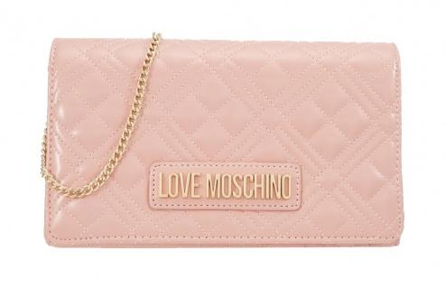 Love Moschino Umhängetasche, Rosé