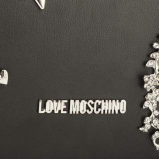 Moschino Umhängetasche/Clutch Nappa, Nero - Vorschau 4