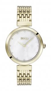 Hugo Boss Damen Uhr Celebration - Business Edelstahl Gold, 1502479