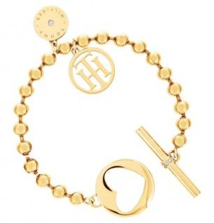 Tommy Hilfiger Armband Edelstahl gold, 2701103