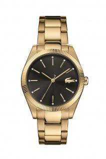 Lacoste Damen Uhr Lacoste Parisienne Edelstahl Gold, 2001088