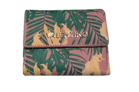Valentino Flap Mini Portemonnaie Atlantic, Cipria/Multicolor