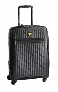 Maison Mollerus Vinerus Black Trolley Medium, Train Gold.