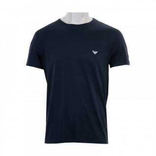Emporio Armani T-Shirt Superfine Cotton, Marine 6A710 Größe M