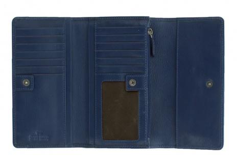 Braun Büffel Geldbörse Soave Navy / Blau, 28352 - Vorschau 3