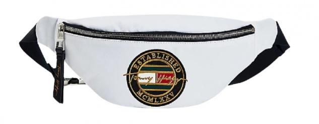 Tommy Hilfiger Crossbody Bag Signature, Weiß