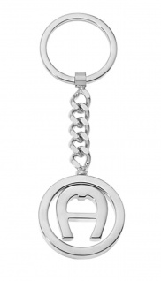 Aigner Schlüsselanhänger Silber, 180088